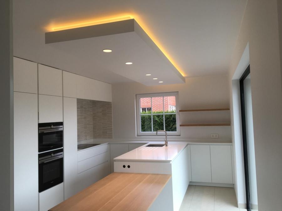 Binnenschilderwerk - moderne keuken