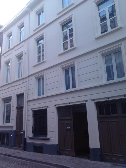 Buitenschilderwerk - gevel appartementen