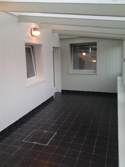 Buitenschilderwerk - veranda