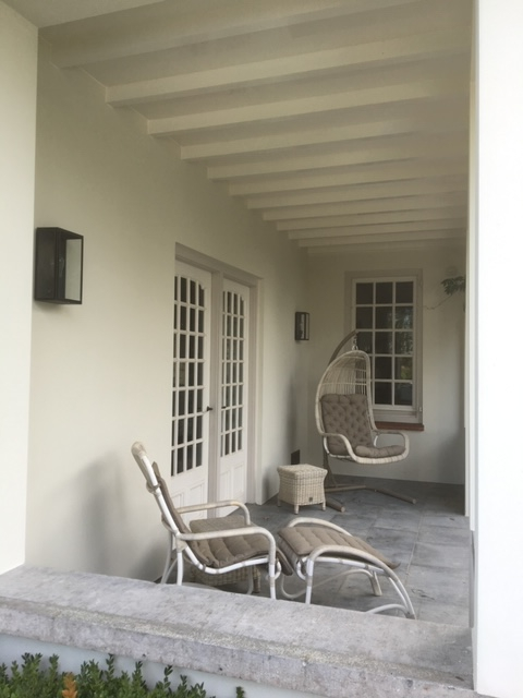 Buitenschilderwerk - patio