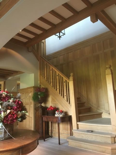 Binnenschilderwerk - traphal landelijk